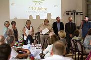 Verbandsehrungen durch BSV-Präsidiumsmitglied Klaus Müller. Foto: pm