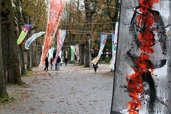"""14 Schau mal - Denk mal - Zum Tag des Offenen Denkmals machten 14 Durlacher Künster und Künsterlinnen auf das Kulturdenkmal """"Schlossgarten"""" aufmerksam. (30 Fotos)"""