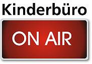 """Kinderbüro on air"": Interaktive Webinare. Grafik: Kinderbüro"