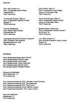 Sportpark Unter Hub - Offener Brief