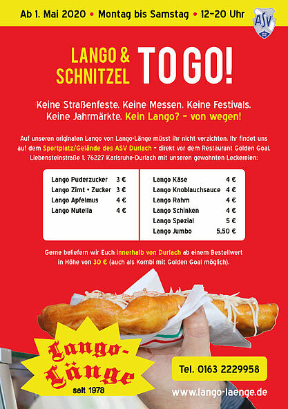 Lango & Schnitzel TO GO! Grafik: pm