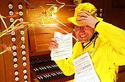 """Donnerwetter!"" – Orgelmusik am Faschingssamstag. Foto: pm"