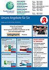 Rundum gesund Apotheken: Aktionen und Angebote im September 2019. Grafik: pm
