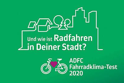 ADFC Fahrrad-Klima-Test 2020. Grafik: pm