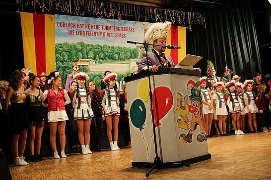 30 Prunksitzung Elferrat Lyra - Der Elferrat Lyra lud zu seiner Großen Prunksitzung in die Durlacher Festhalle ein. (138 Fotos)