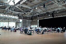 Heutige Sitzung des Gemeinderates in der Gartenhalle. Foto: cg