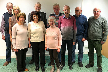 Vorstand Seniorenclub Durlach e.V.