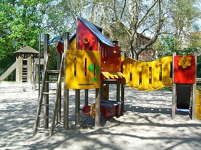 Durlacher Spielplätze: gravierende Mängel. Foto: cg
