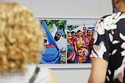 Austellung stimmt auf die India Summer Days 2019 ein – gezeigt werden Impressionen der vergangenen zwei Jahre. Fotos: cg