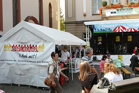 """September - Der """"Feschtles-Marathon"""" um den Verkaufsoffenen Sonntag machte den September zum Erlebnis für die ganze Familie."""