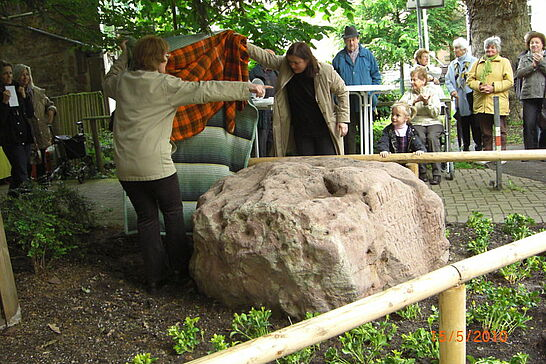 15 Dürrbachfels erstrahlt in neuem Glanz - Bürgergemeinschaft Durlach und Aue 1892 e.V. erweckte historisches Gut aus jahrzehtelangem Tiefschlaf. (22 Fotos)