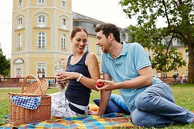 Sonne in Sicht! Frühsommer in Karlsruhe – Picknick in Karlsruhe. Foto: Christoph Düpper / KTG