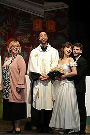 """Musical """"Ciao Bella – ich heirate eine Familie"""". Foto: Tom Kohler"""