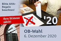 Wählen gehen: In diesem Jahr gilt es dabei, auf die Hygienemaßnahmen zu achten (Symbolbild/Archiv). Foto: cg