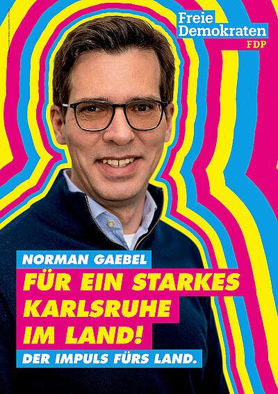 Für ein starkes Karlsruhe im Land. Grafik: fdp