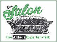 """""""Der Salon – Der (Alltags)-Experten-Talk"""" öffnet erstmals seine Pforten. Grafik: pm"""