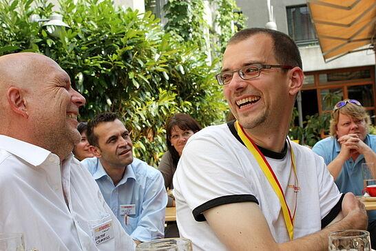 27 2. Geburtstag www.durlacher.de - Viel lernen und lachen konnten die rund 30 Geburtstagsgäste zusammen mit den Machern des Online-Portals. (95 Fotos)