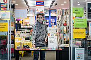 Auch die Durlacher Buchhandlungen sind betroffen. Foto: cg