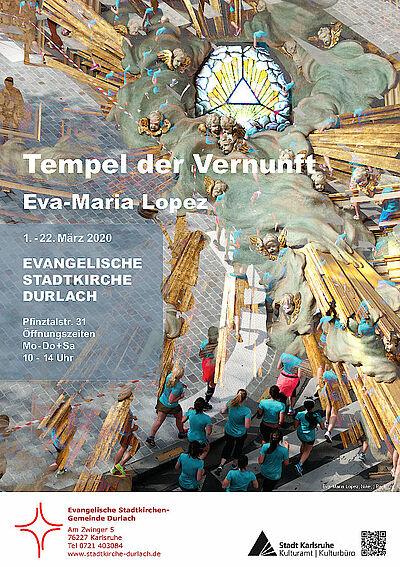 """""""Tempel der Vernunft"""" in der Stadtkirche Durlach. Grafik: pm"""