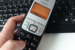Telefon (Symbolbild). Foto: cg