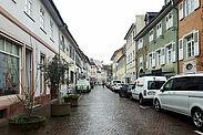 Durlacher Altstadtring im Bereich der Zunftstraße. Foto: cg