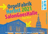 "OrgelFabrik ""salon goes halle"". Grafik: pm"