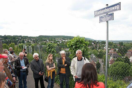 """10 Badische Weinstraße & Blankenhornweg - Die Badische Weinstraße bindet nun auch die Markgrafenstadt ein, welche zugleich einen """"Blankenhornweg"""" erhalten hat. (48 Fotos)"""