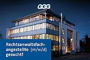 """""""Die Anwälte GGG"""" suchen eine Rechtsanwaltsfachangestellte (m/w/d). Grafik: pm"""