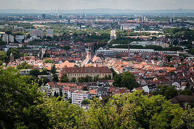 Mit unverstelltem Blick sollen die Stadtdenker/innen für Durlach neue Impulse setzen. Foto. cg