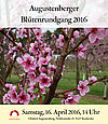 Augustenberger Blütenrundgang 2016. Grafik: pm