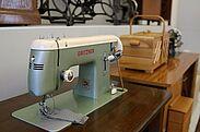 Gritzner-Nähmaschine im Pfinzgaumuseum. Foto: cg