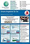 Rundum gesund Apotheken: Aktionen und Angebote im Mai 2019. Grafik: pm