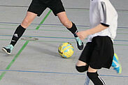 Hallenfußball (Symbolbild). Foto: cg