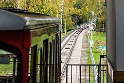 Turmbergbahn mit maroder Trasse. Foto: cg