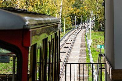 Turmbergbahn vorerst außer Betrieb. Foto: cg
