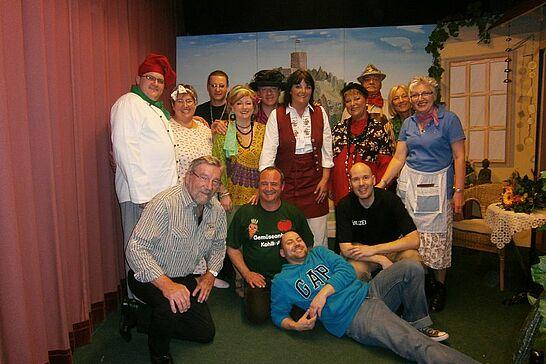 """21 Auemer Bühn: """"Nur Zoff mit dem Stoff"""" - Die Theatergruppe des Gesangvereins Durlach-Aue präsentierte auf der Auemer Bühn das Mundart-Theater 2014. (9 Fotos)"""