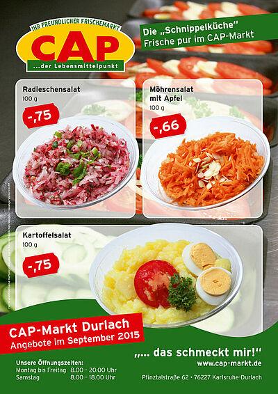 CAP-Markt: Angebote im September 2015