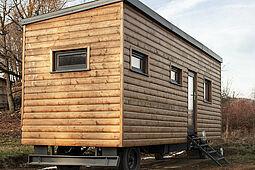 """""""Tiny House"""" und """"Wohnen im Alter"""" – passt das zusammen? Foto: Milada Vigerova / Pixabay"""