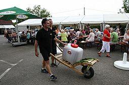 Kann leider nicht stattfinden: Hansa-Fest in Aue. Fotos: om
