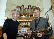 18. Durlacher Orgelnacht in der Stadtkirche. Foto: Christopher Loseberger