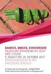 Bambus, Binsen, Birkenrinde: Dr. Hildegund Brandenburg zeigt ihre Schuhe. Grafik: pm