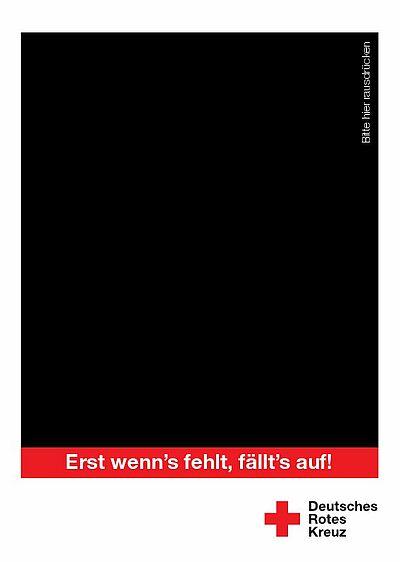 """""""Erst wenn`s fehlt, fällt`s auf!"""". Grafik: pm"""