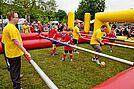 Menschen-Kicker-Turnier 2013. Foto: sade