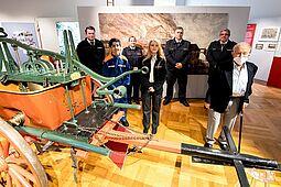 In diesem Jahr feiert die Freiwillige Feuerwehr Durlach ihr 175-jähriges Bestehen. Die Sonderausstellung im Pfinzgaumuseum wurde nun eröffnet. Fotos: cg