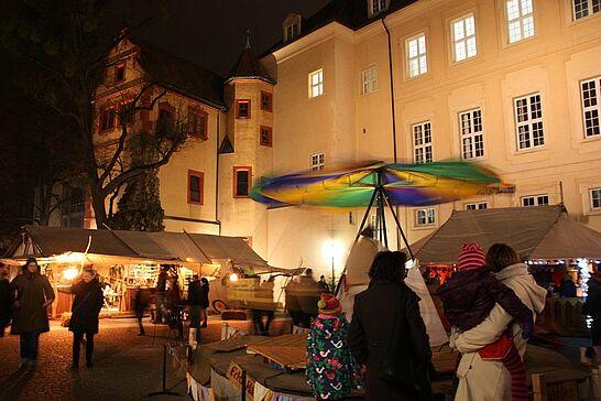 28 Mittelalterlicher Weihnachtsmarkt (Eröffnung) - Bereits am Donnerstag wurde der Mittelalterliche Weihnachtsmarkt inoffiziell, am Freitagabend dann offiziell eröffnet. (73 Fotos)