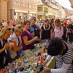 Verkaufslanger Samstag in Durlach.