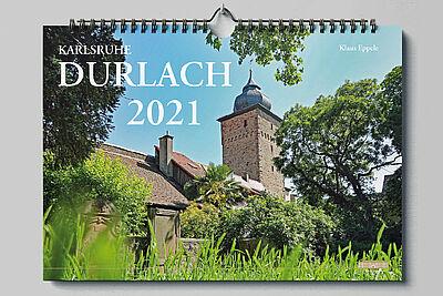 Klaus Eppele: Karlsruhe Durlach 2021. Grafik: pm