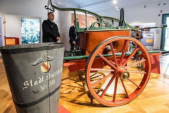 15 Pfinzgaumuseum: Wasser marsch! 175 Jahre Freiwillige Feuerwehr Durlach - In diesem Jahr feiert die Freiwillige Feuerwehr Durlach ihr 175-jähriges Bestehen. Das Pfinzgaumuseum widmet ihr eine Sonderausstellung. (42 Fotos)
