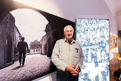 Günter Heiberger dokumentierte insbesondere in den 1980er und 1990er Jahren das Geschehen in Durlach. Fotos: cg