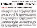 Wochenblatt vom 06. August 2008